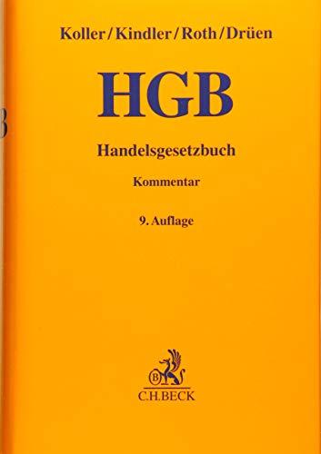 Handelsgesetzbuch: Koller, Ingo; Kindler,