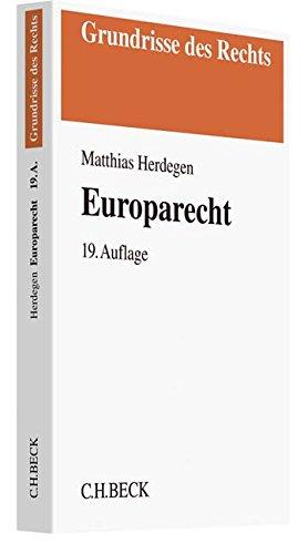 9783406712784: Europarecht