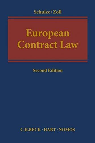 9783406719127: European Contract Law