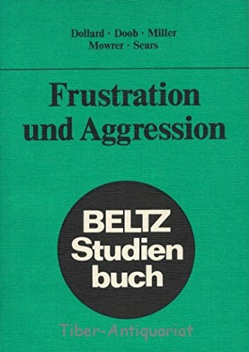 9783407124180: Frustration und Aggression