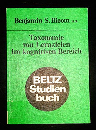 9783407182968: Taxonomie von Lernzielen im kognitiven Bereich