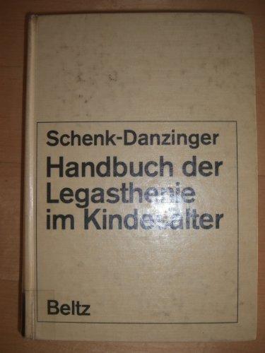 9783407201010: Handbuch der Legasthenie im Kindesalter (Theorie und Praxis der Schulpsycholo...