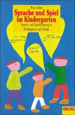 9783407210012: Sprache und Spiel im Kindergarten