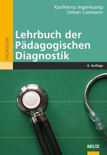 9783407255037: Lehrbuch der Pädagogischen Diagnostik