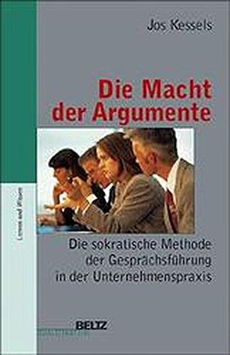 9783407360229: Die Macht der Argumente - AbeBooks - Jos Kessels ...