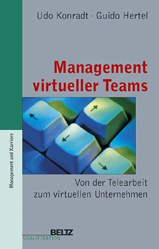 9783407360250: Management virtueller Teams (Beltz Qualifikation / Management & Karriere)