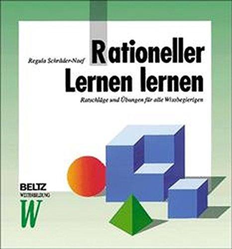 9783407363602: Rationeller Lernen lernen