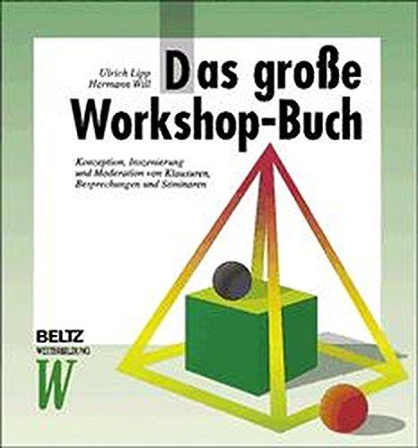 9783407363930: Das große Workshop- Buch.