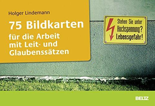 75 Bildkarten für die Arbeit mit Leit- und Glaubenssätzen: Holger Lindemann