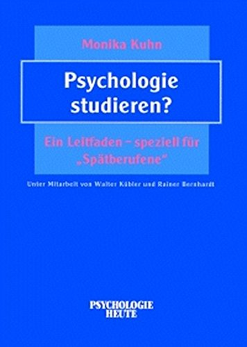 Psychologie studieren ein leitfaden speziell f r for Psychologie studieren hamburg