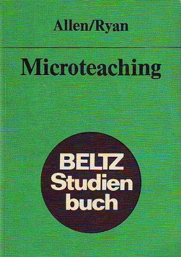 9783407510419: Microteaching.