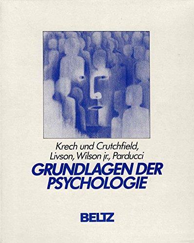 Grundlagen der Psychologie: 8 Bände: Richard S. Crutchfield,Norman