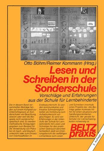 Lesen und Schreiben in der Sonderschule: Otto Böhm