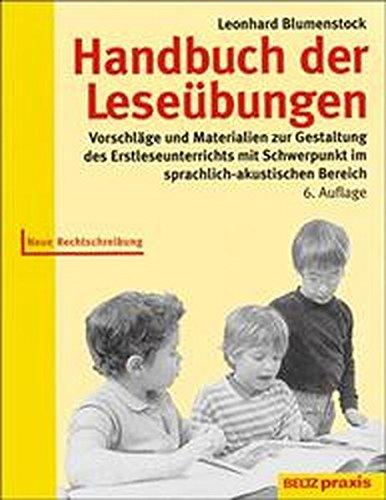 9783407623577: Handbuch der Leseübungen