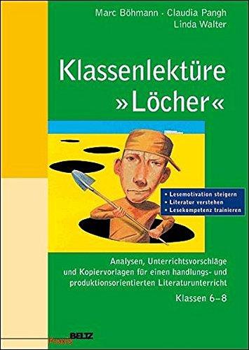 9783407625243: Klassenlektüre »Löcher«.