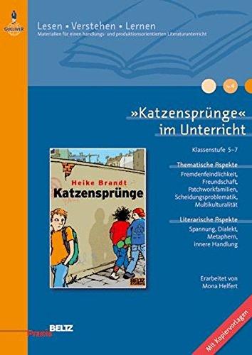 9783407625540: »Katzensprünge« im Unterricht: Klassenstufe 5-7, alle Schularten (Beltz Praxis / Lesen - Verstehen - Lernen)