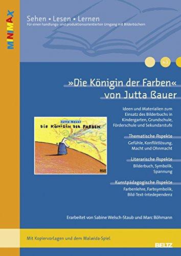 9783407625700: Die Königin der Farben von Jutta Bauer