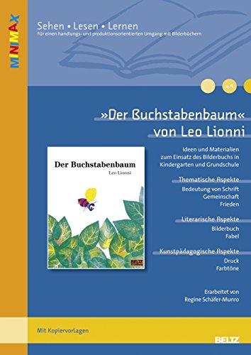 'Der Buchstabenbaum' von Leo Lionni: Schäfer-Munro, Regine /
