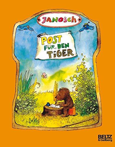 9783407760142: Post für den Tiger: Die Geschichte, wie der kleine Bär und der kleine Tiger die Briefpost, die Luftpost und das Telefon erfinden