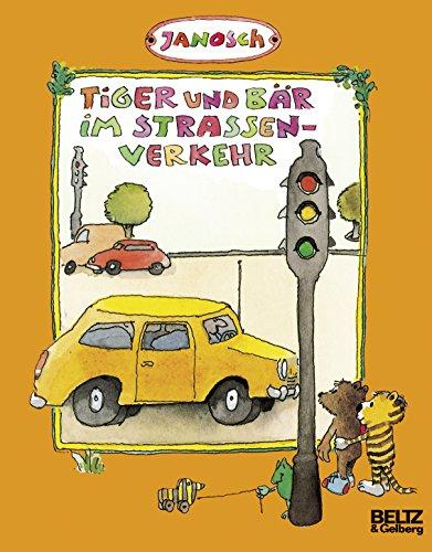 9783407761361: Tiger und Bär im Straßenverkehr