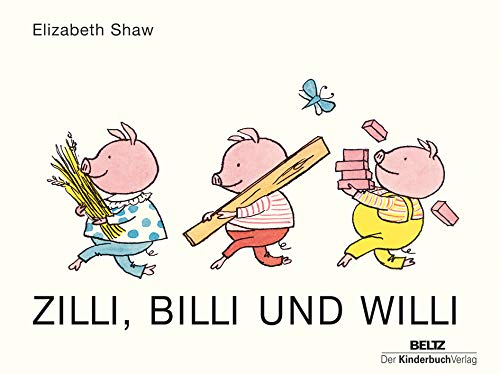 9783407771094: Zilli, Billi und Willi: Vierfarbiges Pappbilderbuch