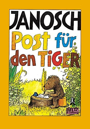 Post fur den Tiger: Janosch