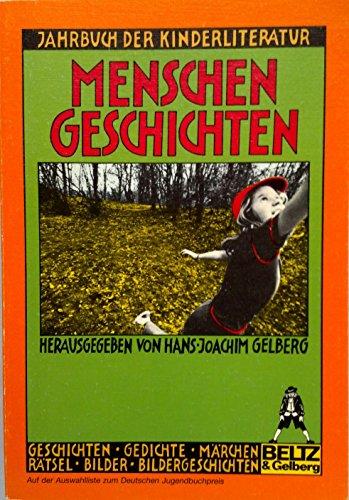 9783407781000: Menschen Geschichten; Jahrbuch der Kinderliteratur