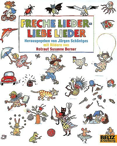 9783407784247: Freche Lieder - Liebe Lieder