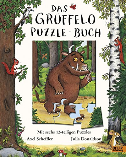 9783407793201: Der Grüffelo. Das Grüffelo-Puzzle-Buch