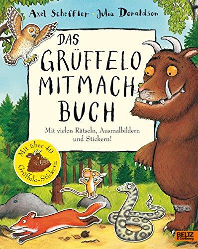 9783407793775: Der Grüffelo. Das Grüffelo-Mitmachbuch: Mit vielen Rätseln, Such- und Ausmalbildern und Stickern