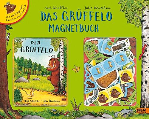 9783407794253: Der Grüffelo. Das Grüffelo Magnetbuch: Vierfabiger Spielbuch-Koffer