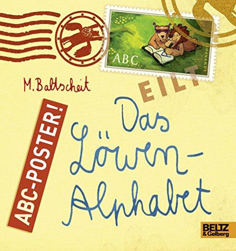 9783407794796: Das Löwen-Alphabet: ABC-Poster