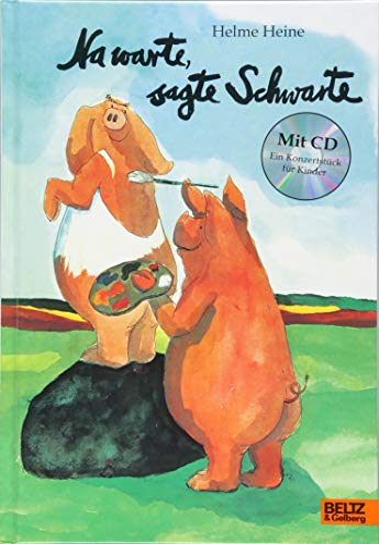 9783407795007: Na warte, sagte Schwarte: Vierfarbiges Bilderbuch