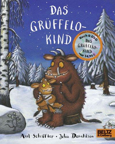 9783407795526: Das Grüffelokind + DVD: Vierfarbiges Pappbilderbuch mit DVD