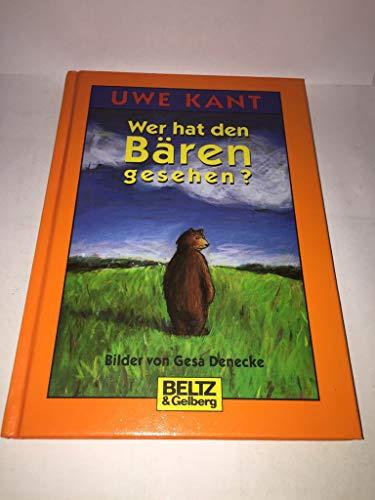 9783407796691: Wer hat den Bären gesehen?