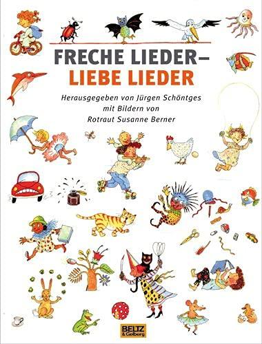 9783407799210: Freche Lieder - liebe Lieder
