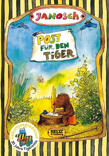 9783407799333: Post für den Tiger: Die Geschichte, wie der kleine Bär und der kleine Tiger die Briefpost, die Luftpost und das Telefon erfinden