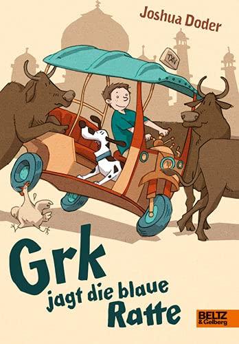 9783407799623: Grk jagt die blaue Ratte
