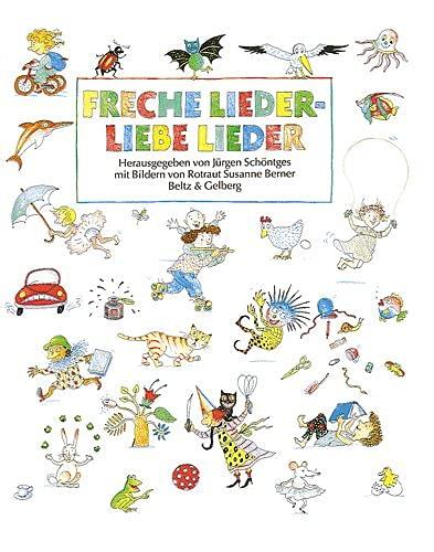 9783407801890: Freche Lieder, liebe Lieder.