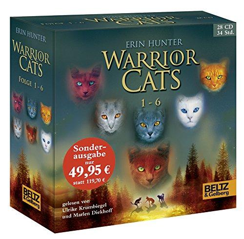 9783407810786: Warrior Cats Staffel 1/01-06