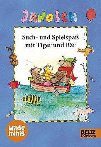 9783407821485: Such- und Spielspaß mit Tiger und Bär: Wilde Minis