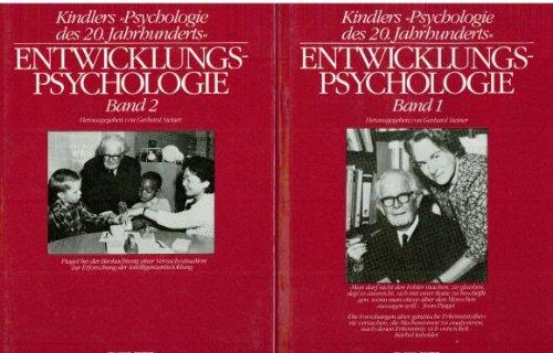 9783407830494: Entwicklungspsychologie. (=Kindlers 'Psychologie des 20. Jahrhunderts'; Band 1+2). [2 Bd.].