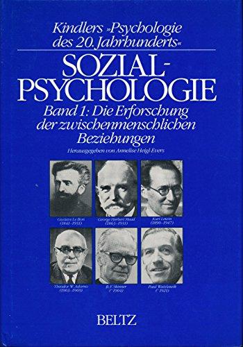 9783407830715: Sozialpsychologie. Band 2: Gruppendynamik und Gruppentherapie. ( Kindlers Psychologie des 20. Jahrhunderts) .