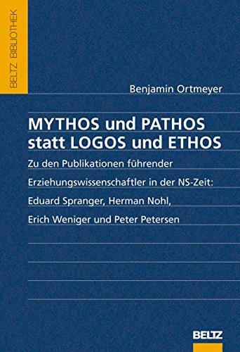 9783407857989: Mythos und Pathos statt Logos und Ethos