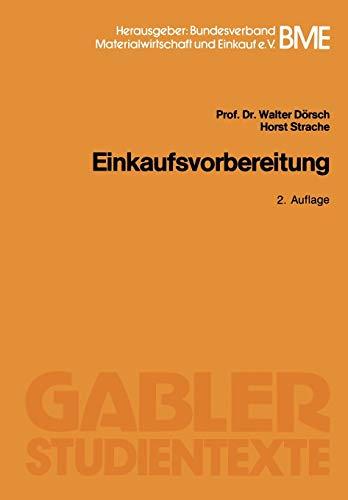9783409026147: Einkaufsvorbereitung (German Edition)