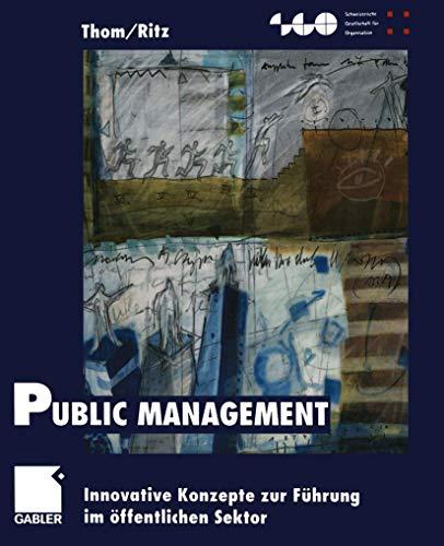 9783409115773: Public Management (Livre en allemand)