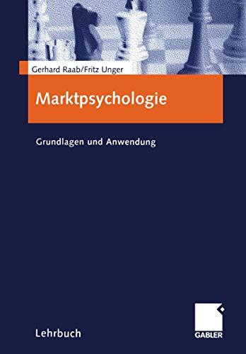 9783409115964: Marktpsychologie. Grundlagen und Anwendung