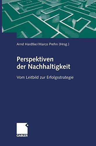 9783409117159: Perspektiven der Nachhaltigkeit: Vom Leitbild zur Erfolgsstrategie