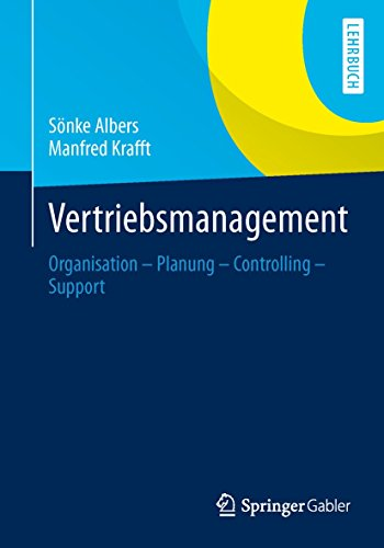 9783409119658: Vertriebsmanagement: Organisation - Planung - Controlling - Support