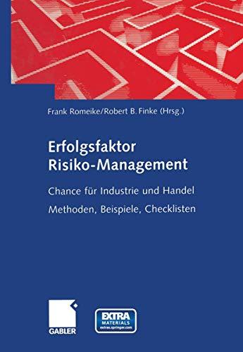 9783409122009: Erfolgsfaktor Risk Management.